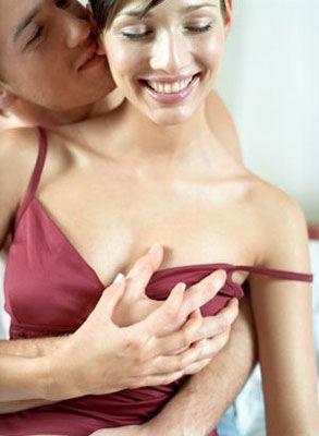 男人喜欢摸女人胸